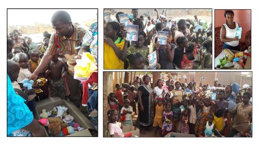 Dons à Ouaga mai 2017