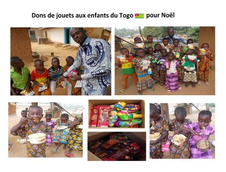 Dons à Yégué décembre 2017